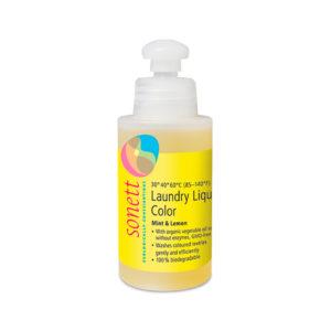 Жидкое средство для стирки цветных тканей Мята и лимон 120мл